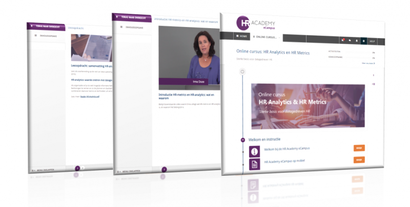HR Academy - Online cursus HR Analytics & HR Metrics